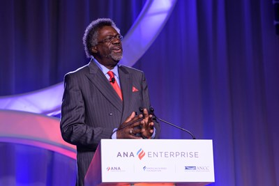 ANA President Ernest J. Grant speaking at 2019 Quality and Innovation Conference.